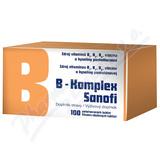 B-komplex Sanofi por. tbl. flm. 100 Glass