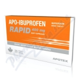 Apo-Ibuprofen Rapid 400mg cps. mol. 20x400mg I