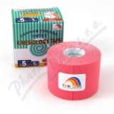 Tejp.  TEMTEX kinesio tape růžová 5cmx5m