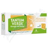 Tantum Verde Orange and honey orm. pas. 20x3mg