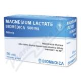 Magnesium lactate Biomedic. 500mg tbl. nob. 100x500mg