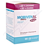 Mobivenal Micro Simple tbl. 100+20