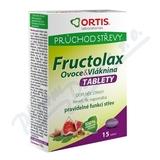 Fructolax Ovoce&Vláknina TABLETY tbl. 15
