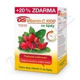 GS Vitamin C1000 se šípky tbl. 100+20 2016