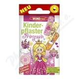 Náplast WUNDmed dětská GIRLS Princezny 10ks