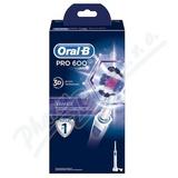 Oral-B El. kart.  PRO600 3D White