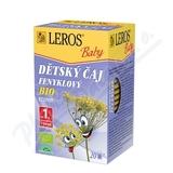LEROS BABY BIO Dětský čaj Fenyklový n. s. 20x1. 5g