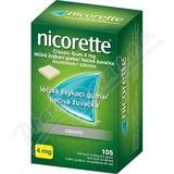 Nicorette Classic Gum 4mg gum. mnd. 105