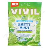 VIVIL Limetka - mentol + vitamín C bez cukru 80g