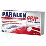 Paralen Grip Chřipka bolest 500-25-25mg tbl. flm. 12