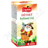 Apotheke Dětský bylinný čaj Bio 20x1. 5g
