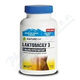 Swiss NatureVia Laktobacily 3 cps. 30