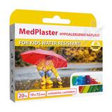 MedPlaster Náplast KIDS water resist. 19x72mm 20ks