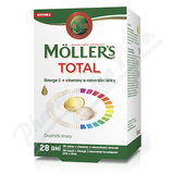 Mollers Total Omega 3 cps. 28 +vitam. a miner. tbl. 28