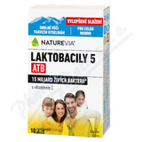 Swiss NatureVia Laktobacily 5 ATB cps. 10