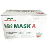NANO FIBER MASK A maska s úvazky 50ks