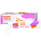 Beldimet 1mg-g gel 50g