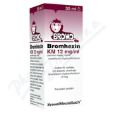 Bromhexin 12 KM-kapky por. gtt. sol. 30ml