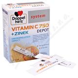 Vitamin C 750 + Zinek Depot 20 sáčků Doppel Herz