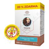 APOROSA Vlasové vitaminy cps. 100+20