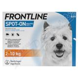 Frontline Spot On Dog 2-10kg pipeta 3x0. 67ml