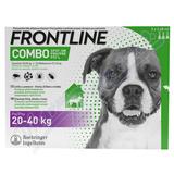 Frontline Combo Spot on Dog 20-40kg pipet. 3x2. 68ml