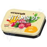 Energit Vitamin D3+acerola tbl. 42