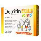 Detritin Kids 400IU vitamin D3 30 měkkých pastilek