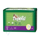 Depend Flex Super Plus inkont. kalh. vel. L 14ks