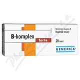 B-komplex forte tbl. 20 Generica