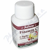 MedPharma Vitamín C 1000mg s šípky tbl. 37 prod. úč.
