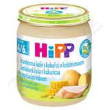 HiPP BABY BIO Br. kaše s kukuřicí a krůtím 125g