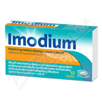 Imodium Rapid 2mg por.tbl.dis.12