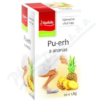 Apotheke Pu-erh a ananas čaj n.s.20x1.8g